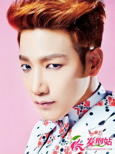 016时尚韩国男生发型图片 男生刘海发型飞机头发型
