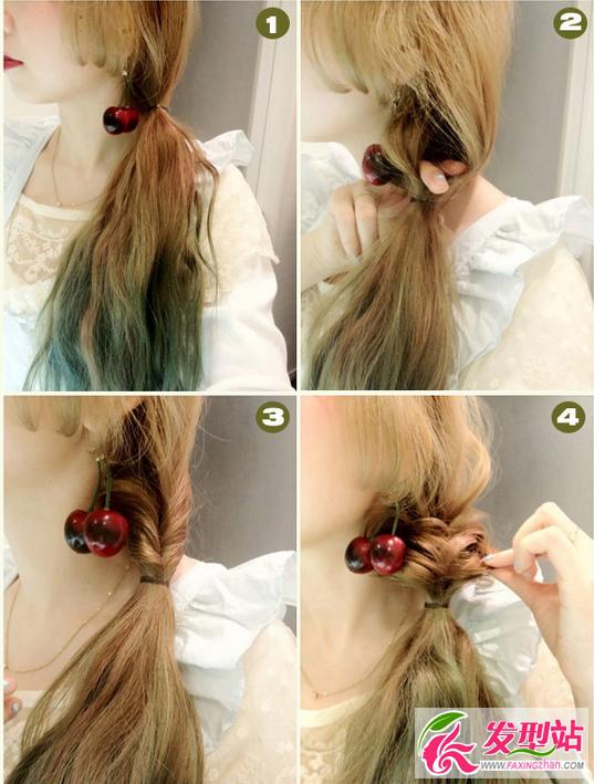 简单发型编法步骤