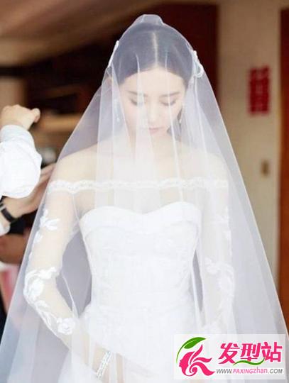 刘诗诗侧面_刘诗诗吴奇隆婚礼发型 简单也可以美得很惊艳-新娘发型-发型站 ...