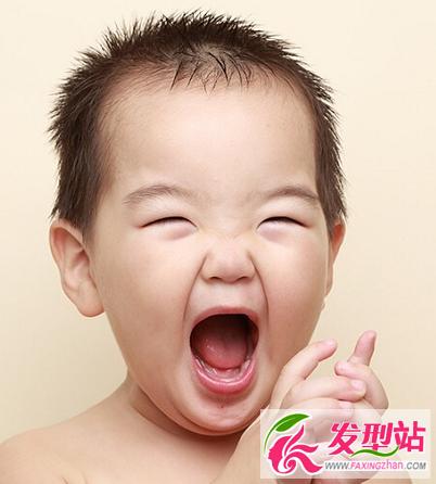 小男孩发型设计图片 最新儿童男童流行发型大全