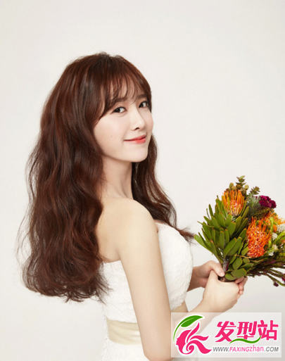 【新发型】具惠善婚纱照婚礼发型 韩式新娘时尚发型图片