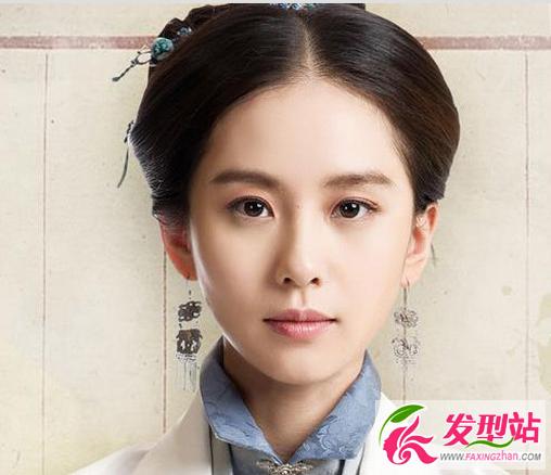 刘诗诗古装发型 清新妆容力压群芳