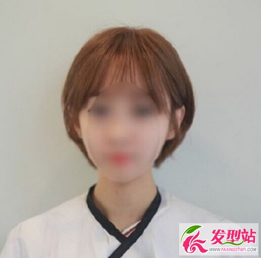 女生短发后面发型_一组女生短发发型图片 短发的女生也可以成女神-短发发型-发型 ...