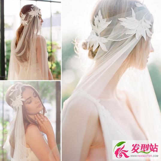 2016新娘发型大全 最新欧式新娘妆发设计