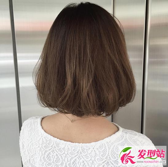 韩国女生短发图片