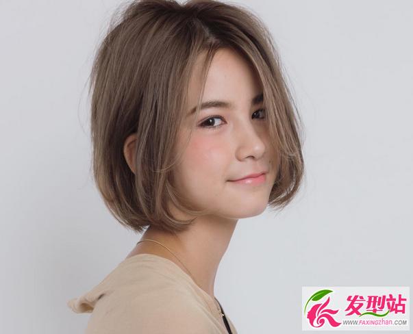 轻熟女短发气质短发流行发型女生女生时尚大18年图片流行短发发型图片