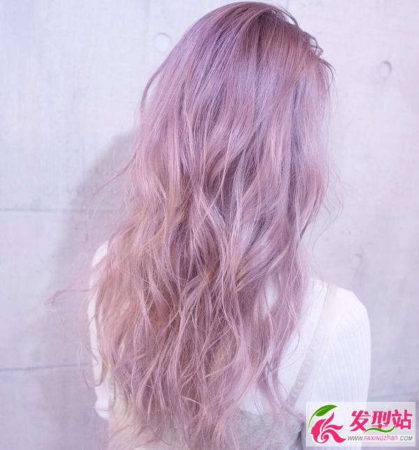 冬石竹色头发