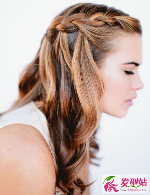 新娘发型图解