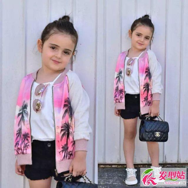 幼儿园小女孩日常儿童上学季发型经典短发图发型比黑长直好看吗图片