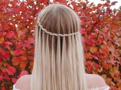 10款绝美扎发发型 波西米亚女神编发