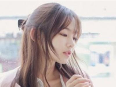 韩式刘海搭配长发才唯美 时尚甜美的刘海长发设计
