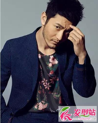 新晋奶爸黄晓明 示范完美男人发型