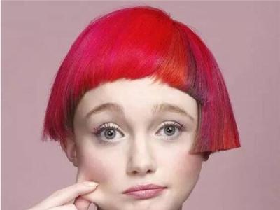 短发长发非主流 创意个性染发