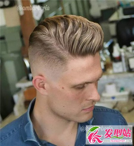 男童铲两边及后头发型图片