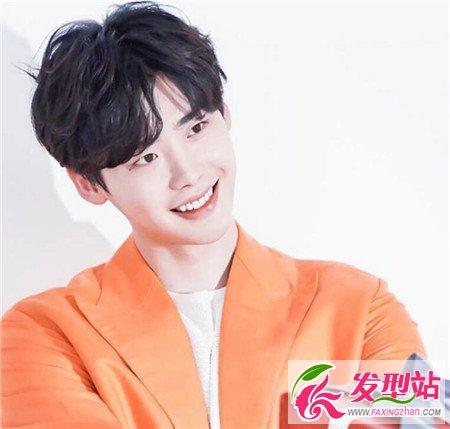 男生V字刘海发型