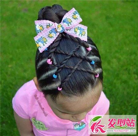 小孩编头发花样100图片_小孩编头发花样图片图片