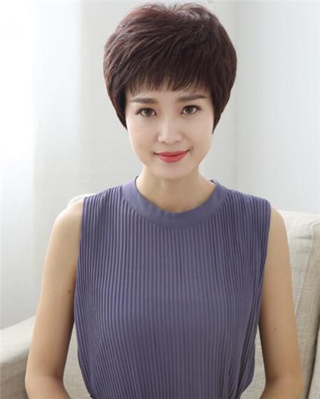 女士时尚短发发型图片图片
