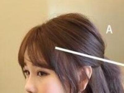 齐肩短发外翘发型怎么弄 平板夹做外翘发型教程