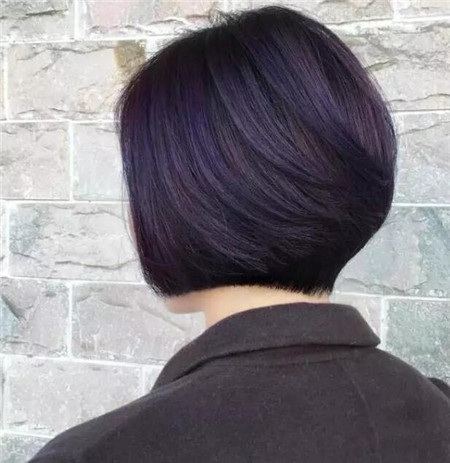 三十岁以上女生短发 精致成熟型波波头