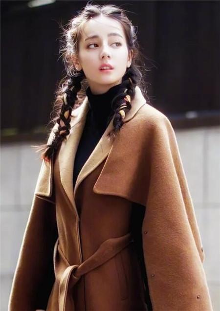 迪丽热巴同款发型 抵挡不住美的光芒