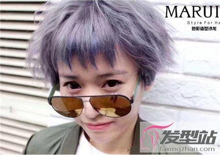 眉上刘海发型