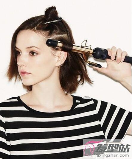 周笔畅短发发型图片_女生短发剪到什么位置最好看 耳下3cm才是黄金比例发型-短发发型 ...