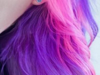 紫色系头发有哪些好看颜色 紫外光发色再次美出新高度!