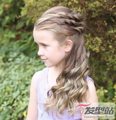 3-12岁小女孩发型