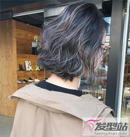 中长发的发型_铅笔灰头发颜色好看么 个性铅笔灰挑染绝对好看-染发发型-发型 ...