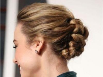 适合中年女士的编发发型 好莱坞女星示范如何令长发不再沉闷!