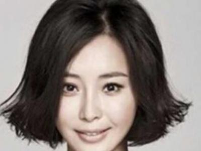 荷叶头发型图片中短发 唯荷叶头美彰显你的优雅知性