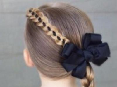 儿童节小女孩发型绑扎方法 打造最可爱漂亮的小公主