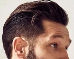 37分侧背头发型怎么弄好看 男士侧背头发型图片大全