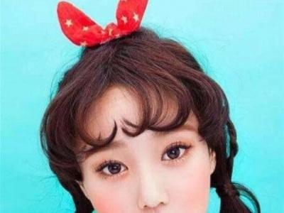 女生爱心形刘海发型 释放你的少女心