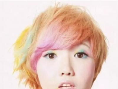 短发女孩适合染什么颜色 彩色系染发千万别错过
