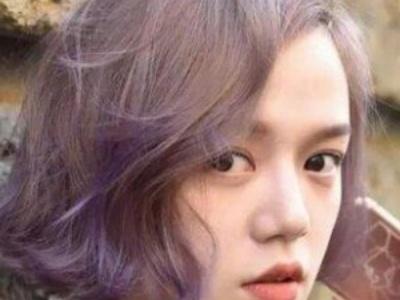 短发染什么颜色时尚 渐变色短发吸睛唯美