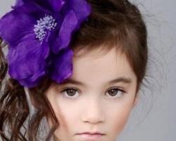 头发少的小女孩扎发 别致扎发蓬松又可爱