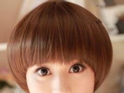 女生蘑菇头短发发型 蘑菇头这样剪最好看