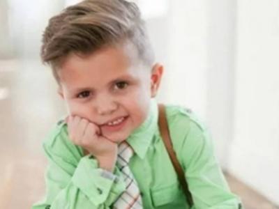 男童穿衬衫配什么发型 打造时尚酷炫小小潮男