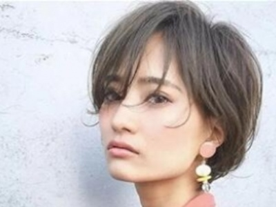 女生日式短发发型 清新自然散发独特韵味