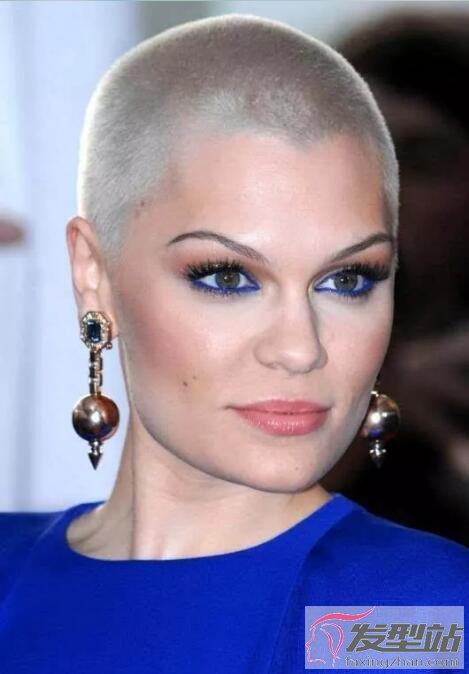 超短发发型女 寸头是检验女星颜值的最新标准
