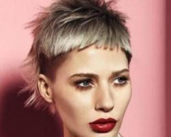最潮帅气中性短发发型 朋克风短发显独特个性魅力