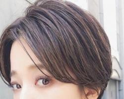 日系女生短发发型 头型矫正短鲍伯头天生扁头也没问题