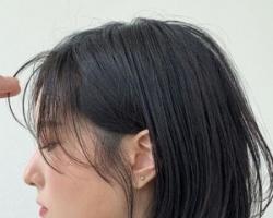 女生上短下长的层次发型 不适合脸型和各脸型最显瘦遮肉的长度