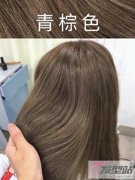 为什么很多人染棕色头发?