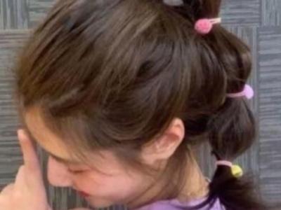 好看又简单的扎发发型 甜美女生必备款款都减龄