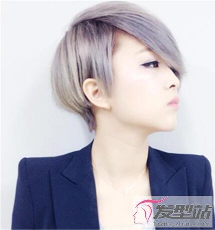 非主流女生短发发型 独特有个性回头率高