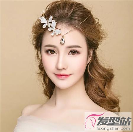 韩式新娘发型