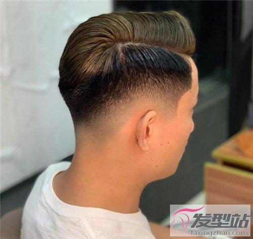 男生短发发型图片及名称