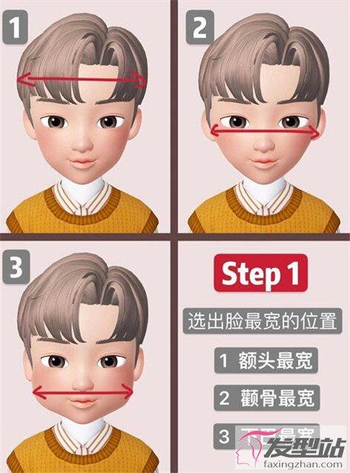 发型脸型设计